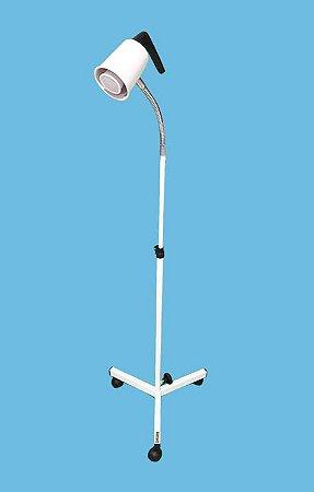 Foco multiuso com lâmpada led  (BIV) 50 W –Sem espelho e flexível com regulagem de altura Esquadriplast