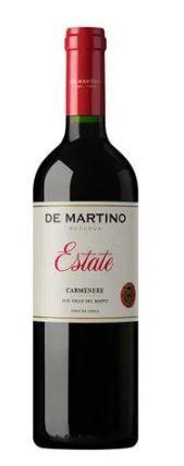 VINHO TINTO CHILENO DE MARTINO ESTATE RESERVA - CARMENERE 2019 750ml
