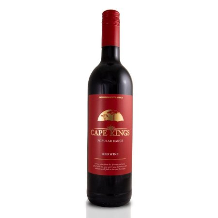 Vinho Tinto Sul Africano Cape Kings Popular Range 750ml