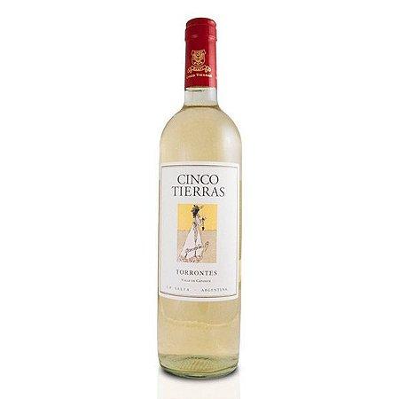 Vinho Cinco Tierras Sorbus Torrontes - 2017 - 750ml Branco Argentino