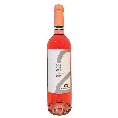 Vinho Rosé Espanhol Las2Ces Rosado 750ml