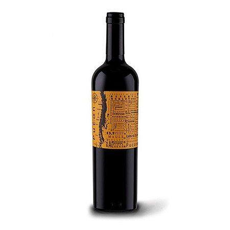 Vinho Tinto Chileno Pucon Reserva Merlot 2017 750ml