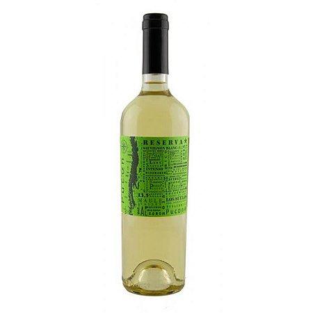 Vinho Branco Chileno Pucon Reserva Sauvignon Blanc 750ml