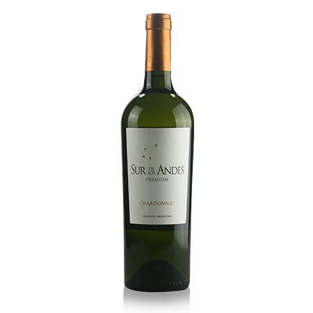 Vinho Branco Argentino Sur De Los Andes Reserva Chardonnay Premium 750ml
