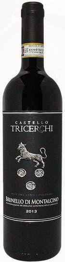 Vinho Tinto Italiano Castello Tricerchi Brunello Di Montalcino DOCG 750ml