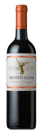 Vinho Tinto Chileno Montes Alpha Cabernet Sauvignon 2016 750ml