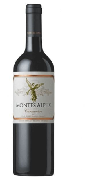 Vinho Tinto Chileno Montes Alpha Carmenere 2017 750ml