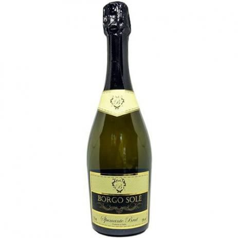Vinho Espumante Italiano Borgo Sole Vino Brut 750ml