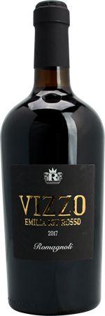 Vinho Tinto Italiano Romagnoli Vizzo Emilia Igt Rosso 750ml