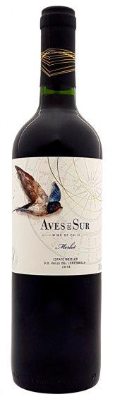 Vinho Tinto Chileno Aves Del Sur Merlot 750ml