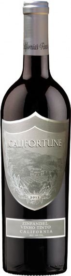 Vinho Tinto Americano Califortune Zinfandel 750ml