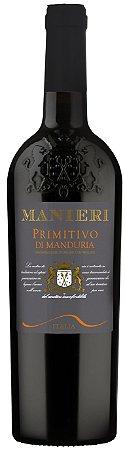 Vinho Tinto Italiano Manieri Primitivo Di Manduria 750ml