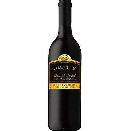 Vinho Tinto Sul africano Quantum Classic Ruby 750ML