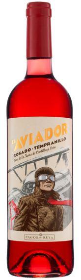 VINHO EL AVIADOR TEMPRANILLO ROSÉ 750ML ESPANHOL