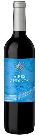 Vinho Tinto Argentino Aires Andinos - Malbec - 2020 - 750ml