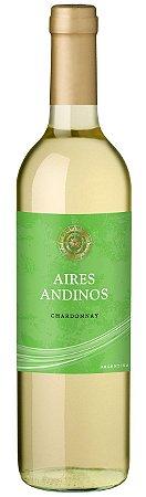 Vinho Branco Argentino Aires Andinos - Chardonnay - 2020 - 750mL