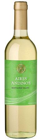 Vinho Branco Argentino Aires Andinos - Sauvignon Blanc - 2020 - 750ml