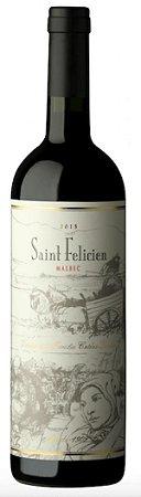 Vinho Tinto Argentino Saint Felicien - Catena Zapata - Malbec - 2017 - 750ml