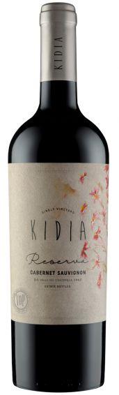 Vinho Tinto Chileno Kidia - Reserva - Cabernet Sauvignon - 2017 - 750mL