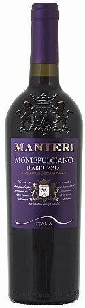 VINHO TINTO ITALIANO MANIERI MONTEPULCIANO D´ABRUZZO - 2017- 750ML