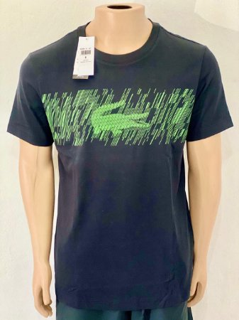 Lacoste Camiseta Sport Logotipo Verde