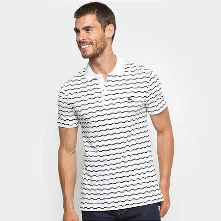 Camisa Polo Lacoste Listrada Degraus