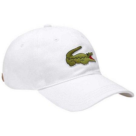 Boné lacoste crocodilo verde Oversized