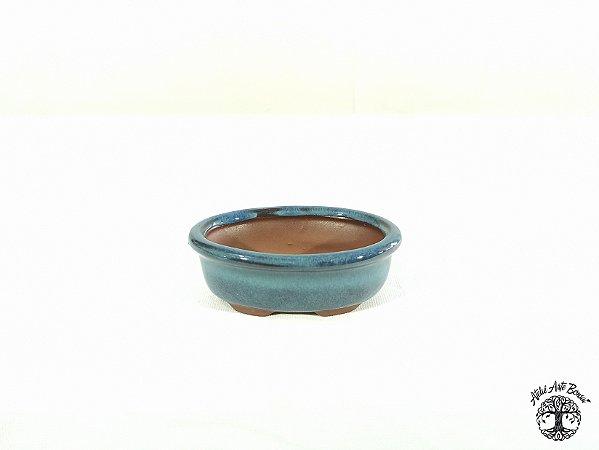 Vaso Retangular Chinês  9,7x6,7x3,5 cm