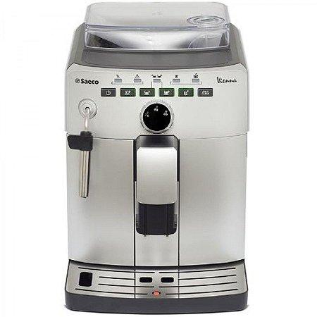 Promoção Para Assistência Tecnica - Saeco Cafeteira Expresso Automática Italiana com Dispositivo Cappuccinador, Maquina de cafe Philips Saeco Vienna