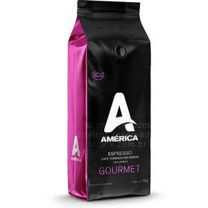 Café em grão América Gourmet  01KG