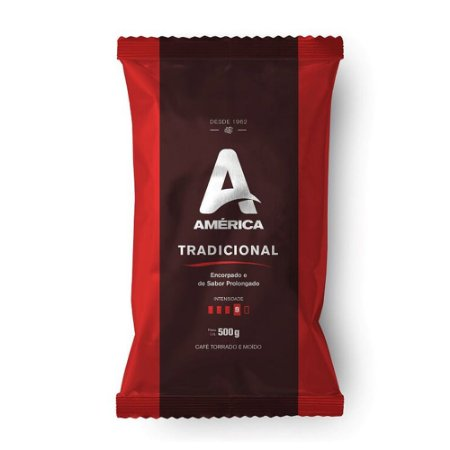 Café em pó América almofada 500g Tradicional