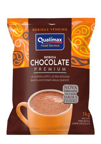 Chocolate soluvel Premium Qualimax