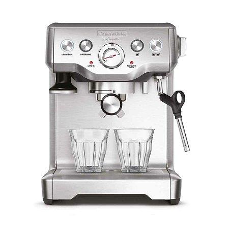 Maquina de Cafe Expresso - Cafeteira Elétrica Tramontina by Breville Express em Aço Inox  - MaxCoffee quality