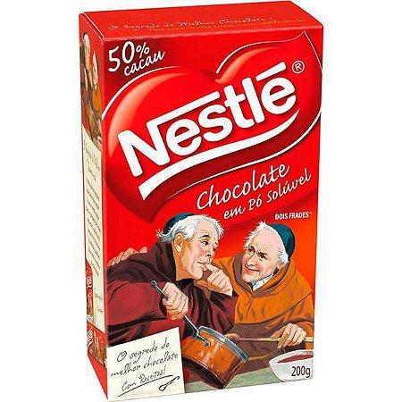 Chocolate - Chocolate em Pó Nestlé Dois Frades 200g