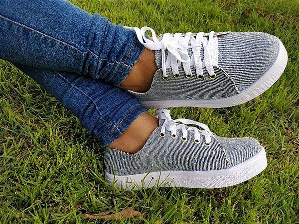 Tênis Jeans- Mary Esteves