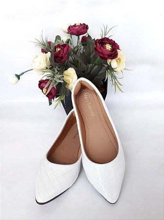 Sapatilha Branca- Mary Esteves