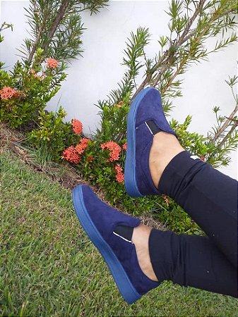 Slipper Azul- Mary Esteves