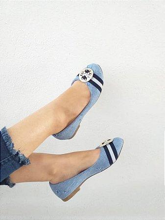 Sapatilha Azul Mary Esteves