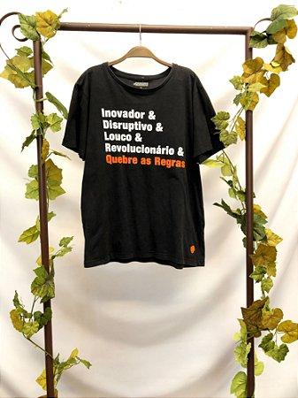 Camiseta #QUEBREASREGRAS (G)