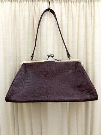 Bolsa vintage de couro Corello