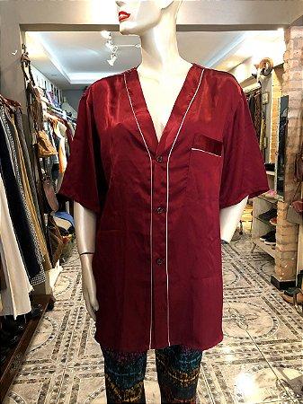Pijama Vintage de Cetim (M)