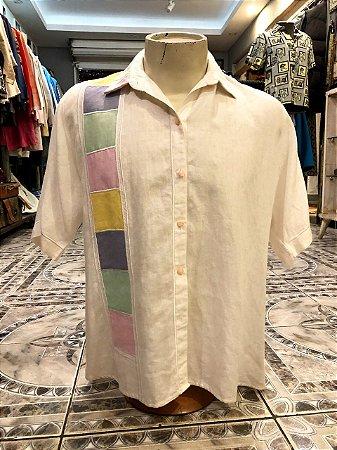 Camisa de Linho Feltrin (G)