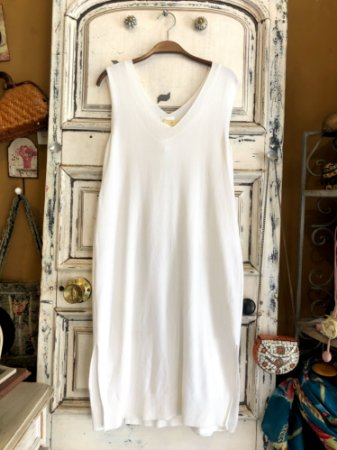 Vestido Tricot Osklen Branco (P)
