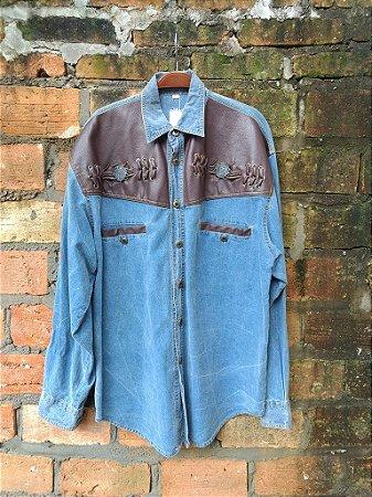 Camisa Western Jeans