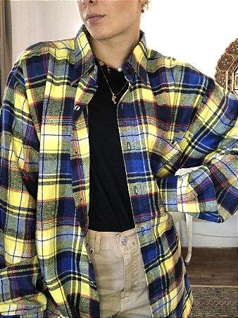 Camisa xadrez flanela 5
