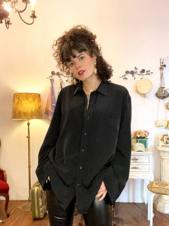 Camisa vintage oversized (42)