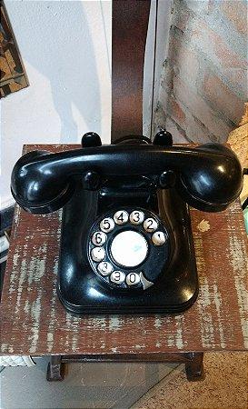Telefone vintage funcionando