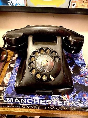 Telefone Vintage Preto (funcionando)