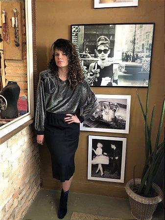 Vestido Vintage Gucci Lurex