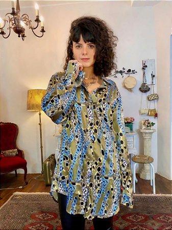 Camisa vintage correntes cetim (48)
